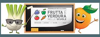 """Programma """"Frutta e verdura nella scuola"""""""
